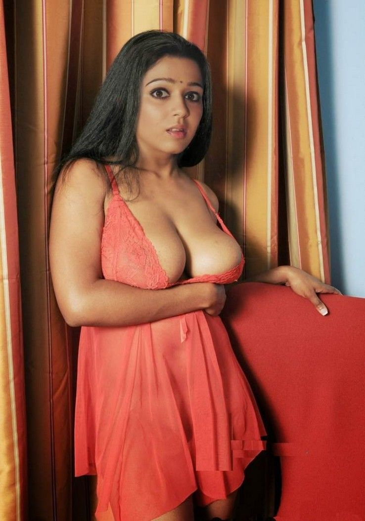 Hot And Sexy Tollywood Tempting South Indian Movie Actress Charmi Kaur -1550