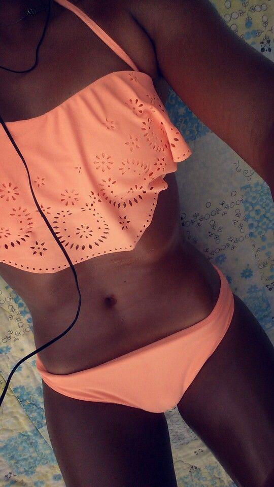 b7eb49b8294c9 Peach bathing suit