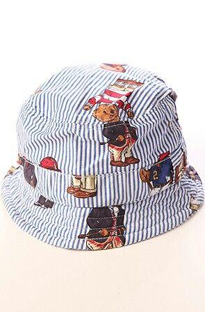 9993bba3d Polo bear bucket hat