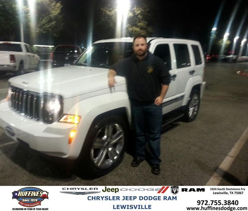 Congratulations To Brandon Zitar On Your Jeep Liberty Purchase