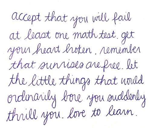 Love To Learn Quote