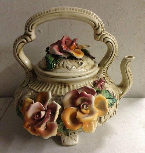 Capodimonte Porcelain Coffee Set
