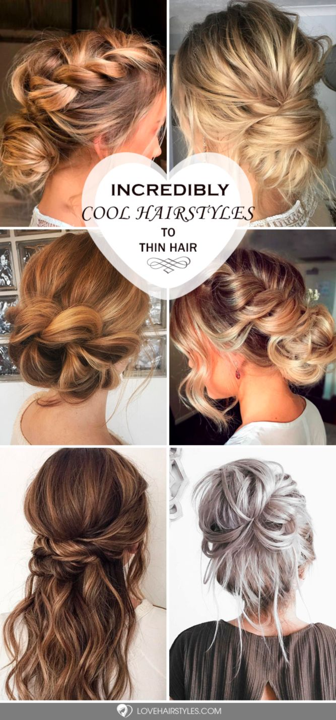 incredible hairstyles for thin hair