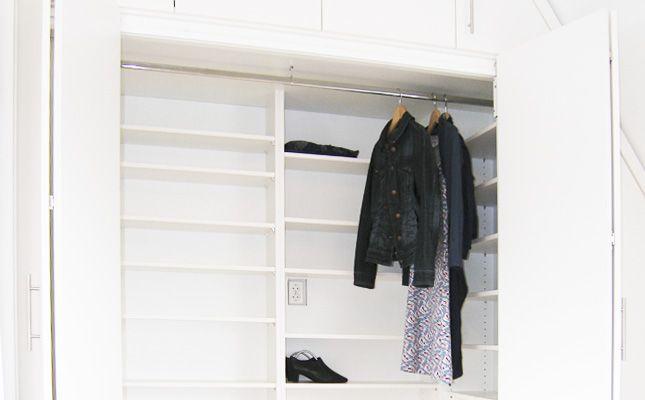 zolderkast   opgeruimd   ruimtelijk meubel   slaapkamer, Deco ideeën