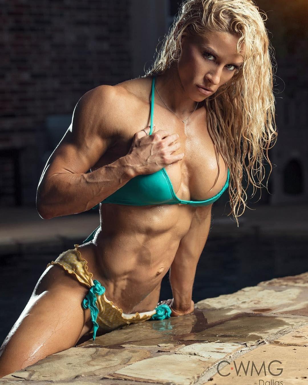 topless female fitness models