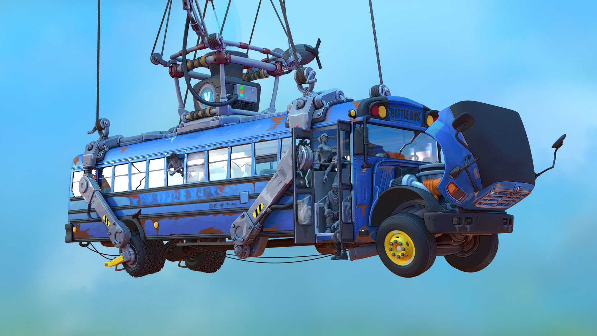 Fortnite Battle Bus Path Change Concept To Disperse Players More