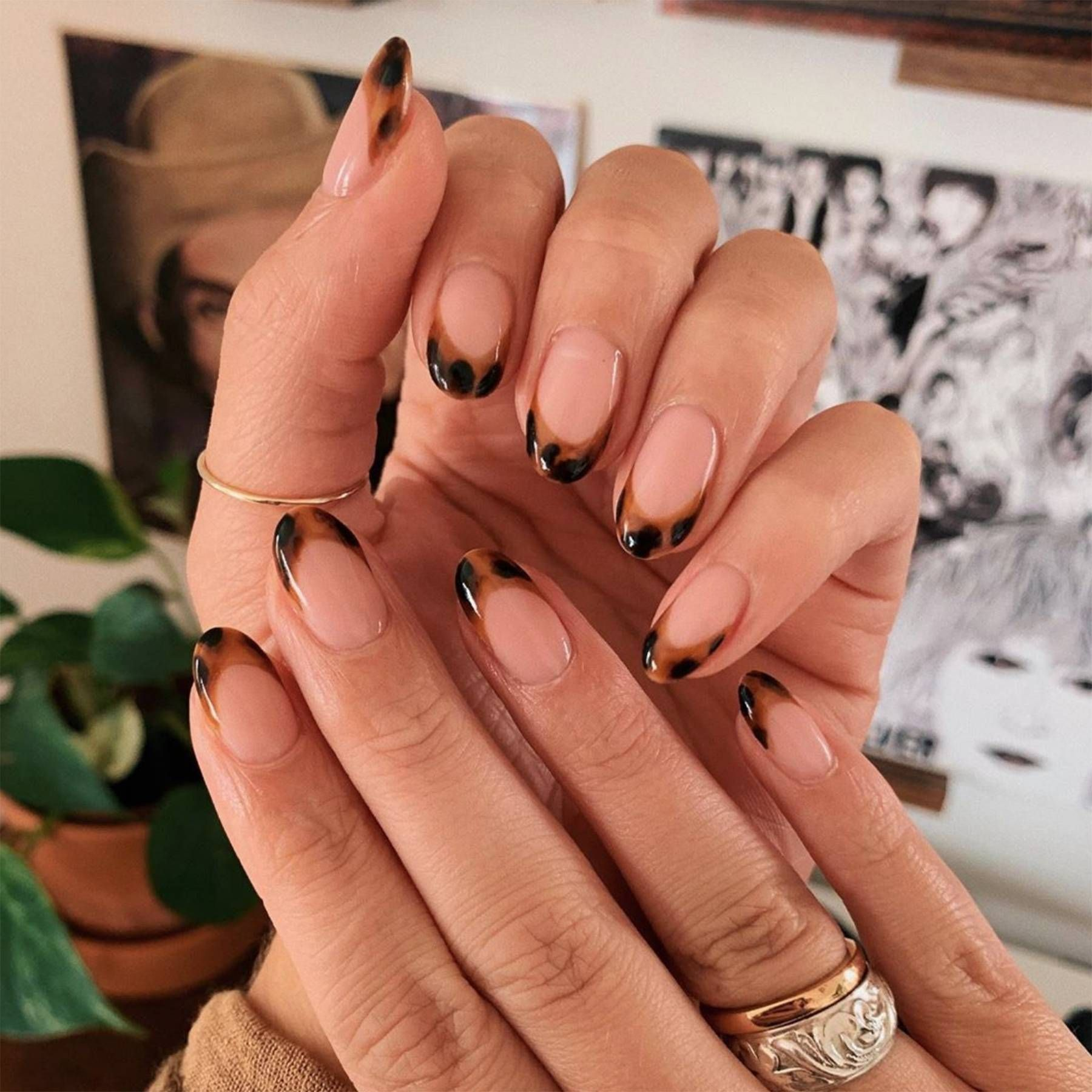 Shell nails are the prettiest act of escapism  Minimalist nails