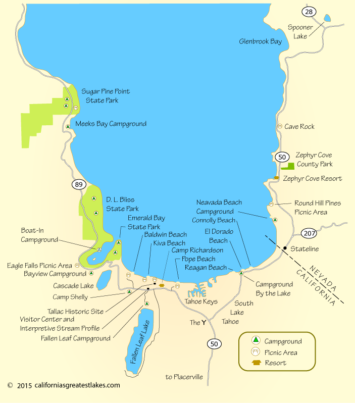 map of campgrounds at South Lake Tahoe | Lake tahoe camping ... Camp Richardson Campground Map on lane county oregon map, camp richardson lake tahoe, camp richardson bike trail map, camp richardson rv map, richard camp camp map, lake tahoe map,