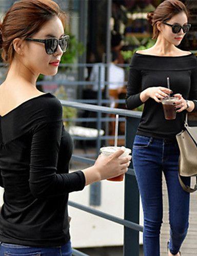 Blusa Simples   Moda de Rua Outono 29ccfc01c4d35