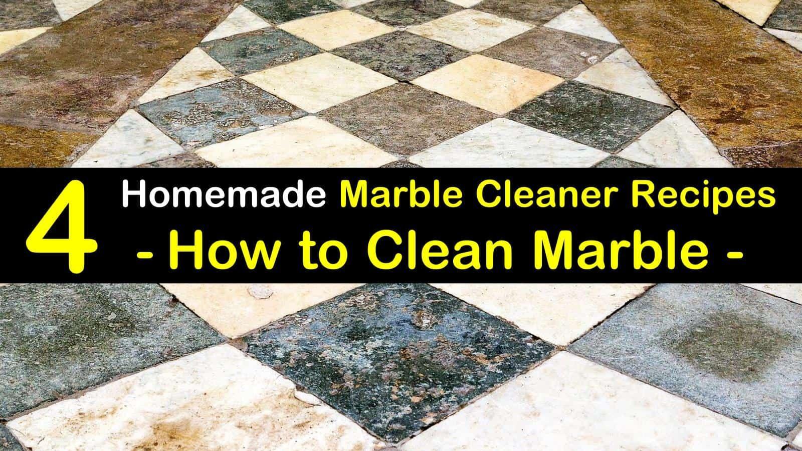 4 diy ways to clean marble cleaning marble floors