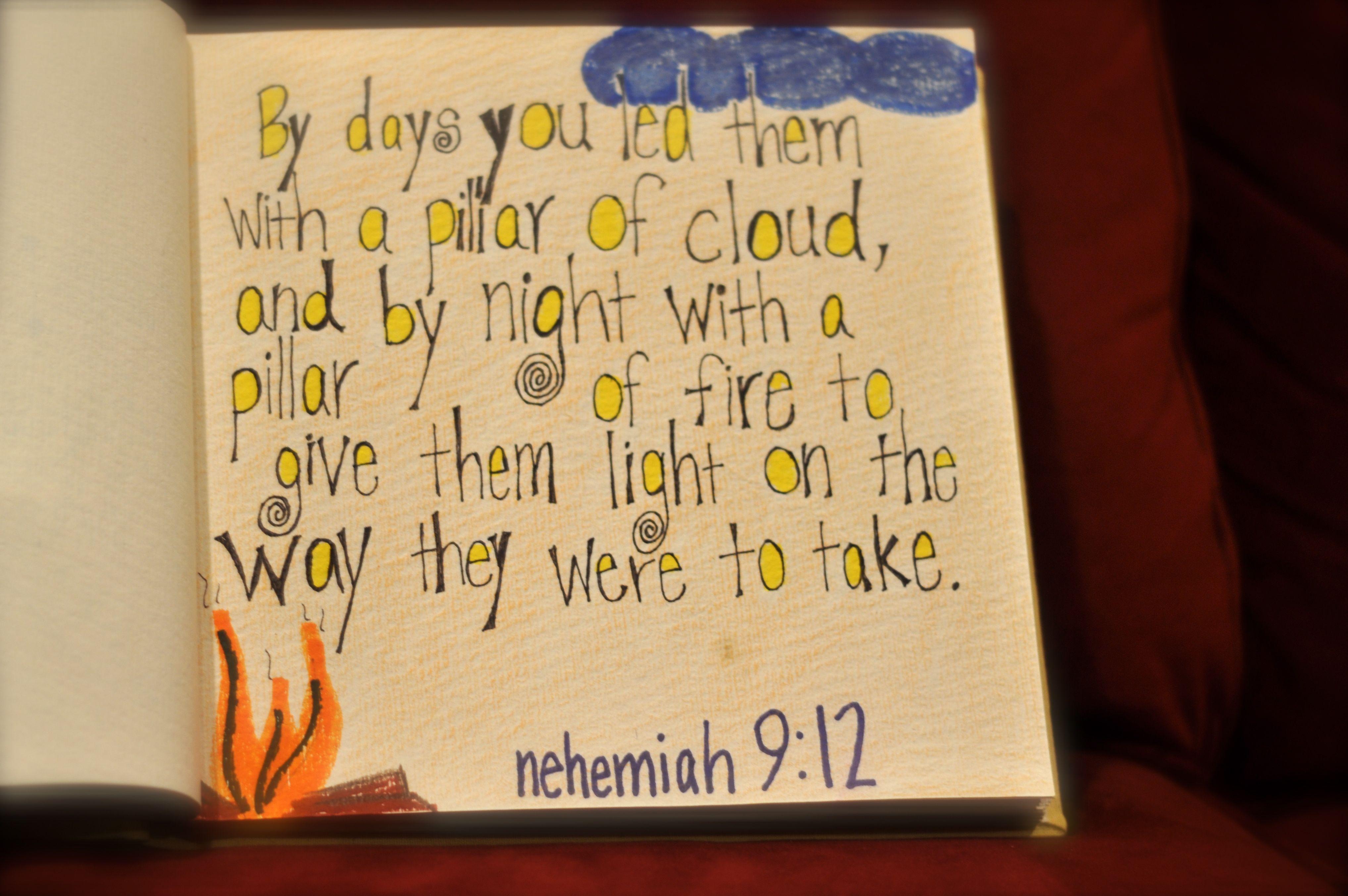 Nehemiah 9: 12