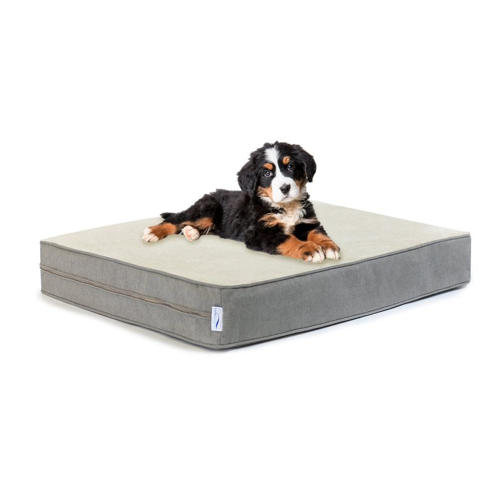 Orthopedic Memory Foam Dog Bed W Stain Repellant Livesmart Technology In 2020 Dog Pet Beds Orthopedic Dog Bed Memory Foam Dog Bed