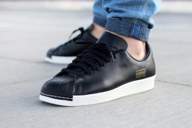 Superstar : adidas dévoile les 80s Clean Black #dopissimes