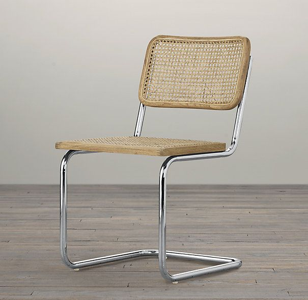Restoration Hardware's Bauhaus Side Chair (based on the Breuer Caned Chair)  $139