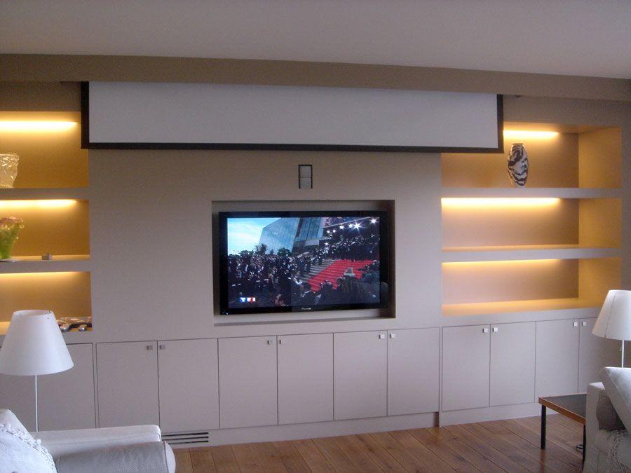 les installations home cin ma audio et vid o blaack salon pinterest meuble t l cin ma et. Black Bedroom Furniture Sets. Home Design Ideas