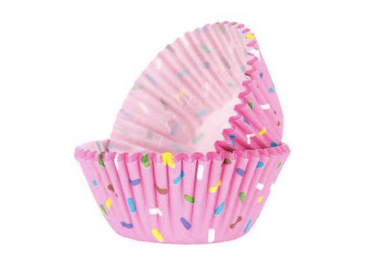 Donut Sprinkle Cupcake Liner 50 Count Sprinkles Cupcake Liner