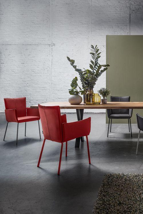 Tischlein streck dich! Eichenholztisch Contur 3100 mit Waldkante