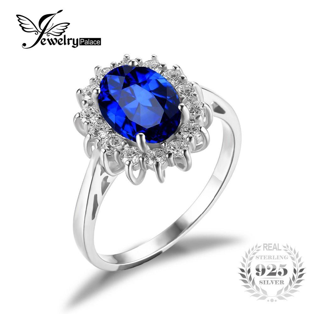 Anillo plata zafiro azul