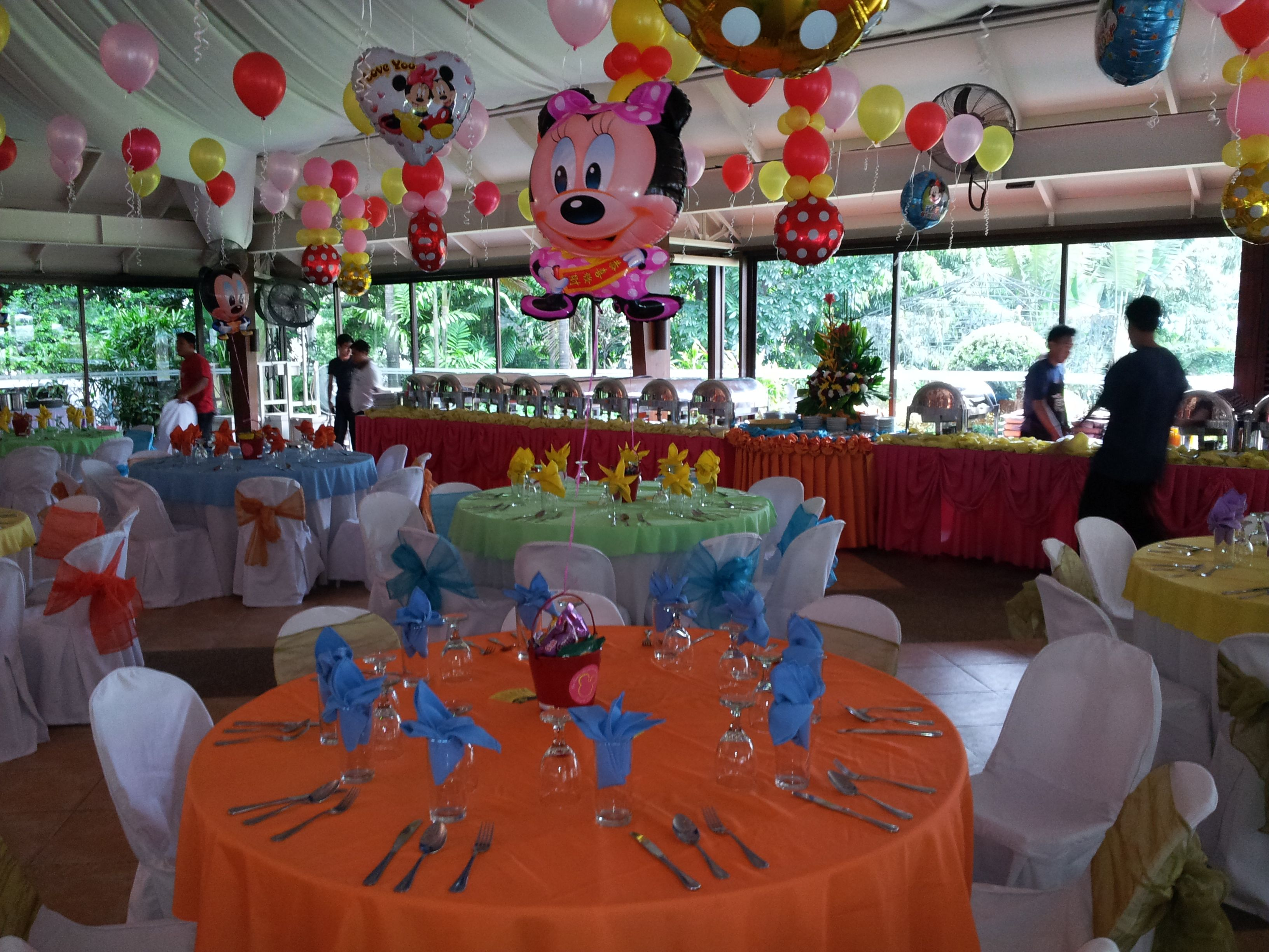 Mickey Mouse Table Setup & 10 best Mickey u0026 Minnie Mouse Party Theme images on Pinterest ...