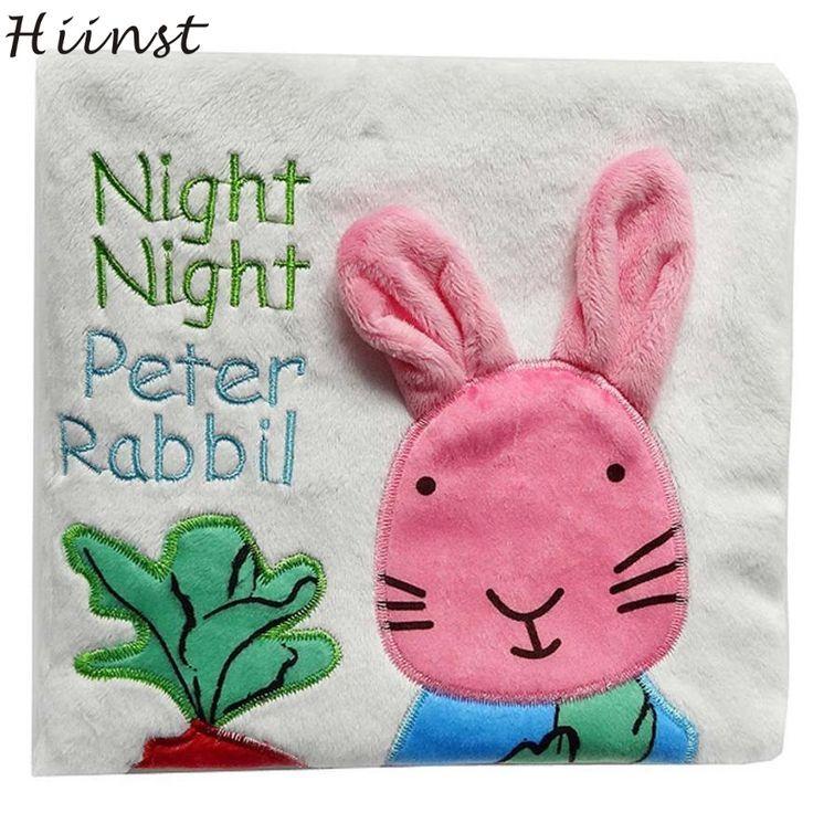 HIINST Animal Rabbit Puzzle Cloth Book Baby Toy Cloth Development Books Best sel...,  HIINST Animal Rabbit Puzzle Cloth Book Baby Toy Cloth Development Books Best sel...,