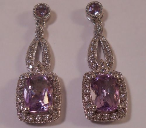 classic earrings rose in karat product normal amethyst gold metallic lyst pomellato pink jewelry de nudo france