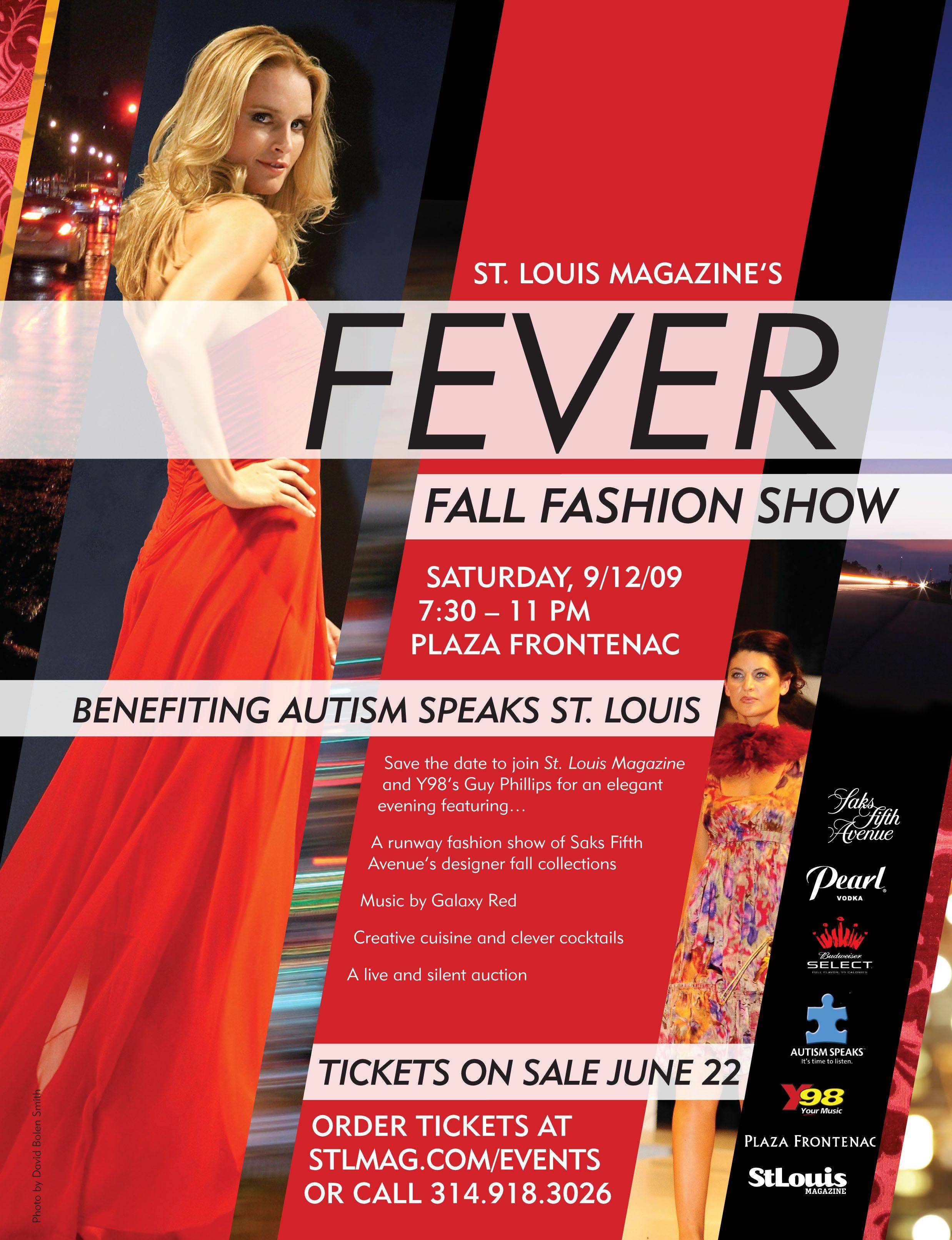 Fever Fall Fashion Show advertisement | Fashion show ...