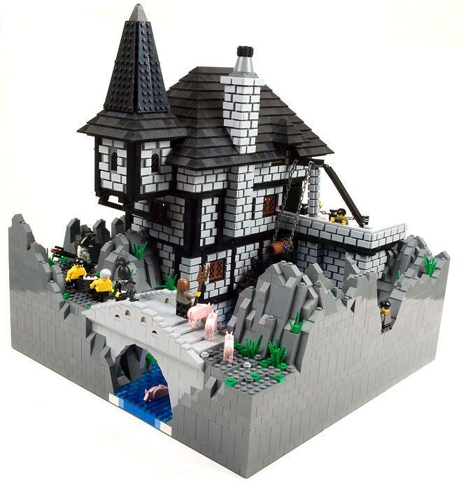 Lego Medieval House lego castle moc - hledat googlem | legos | pinterest | lego, lego