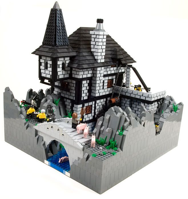 lego castle moc hledat googlem legos pinterest lego lego haus und lego ideen. Black Bedroom Furniture Sets. Home Design Ideas