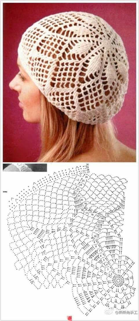 gorro crochet | elisabel | Pinterest | Suéteres para bebé, Gorros y ...
