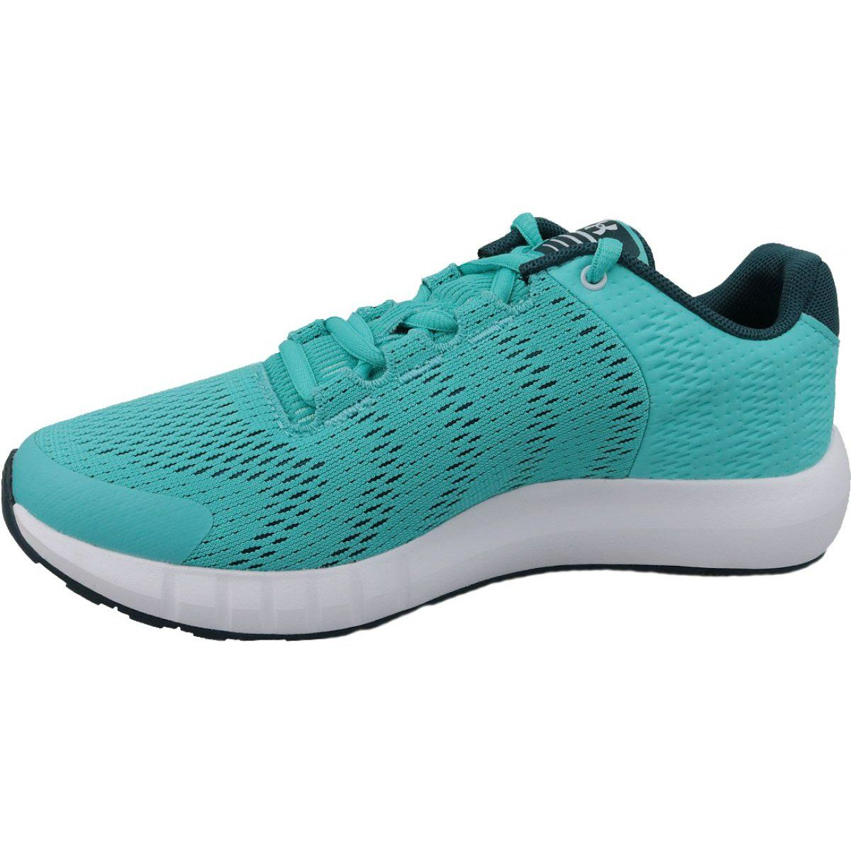 Under Armour Under Armor Pursuit Bp Jr 3022092 300 Running Shoes Blue Blue Shoes Running Shoes Under Armour