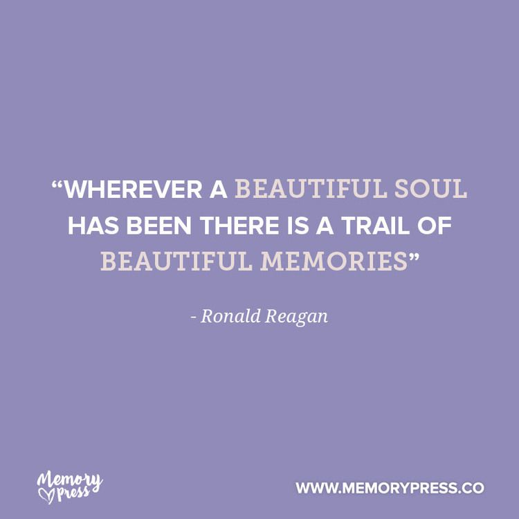 """wherever a beautiful soul has been there is a trail of ..."