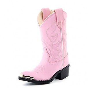 b024628c Old West Pink Cowgirl Boots - for Little Girls #PFIwesternOldGringo ...