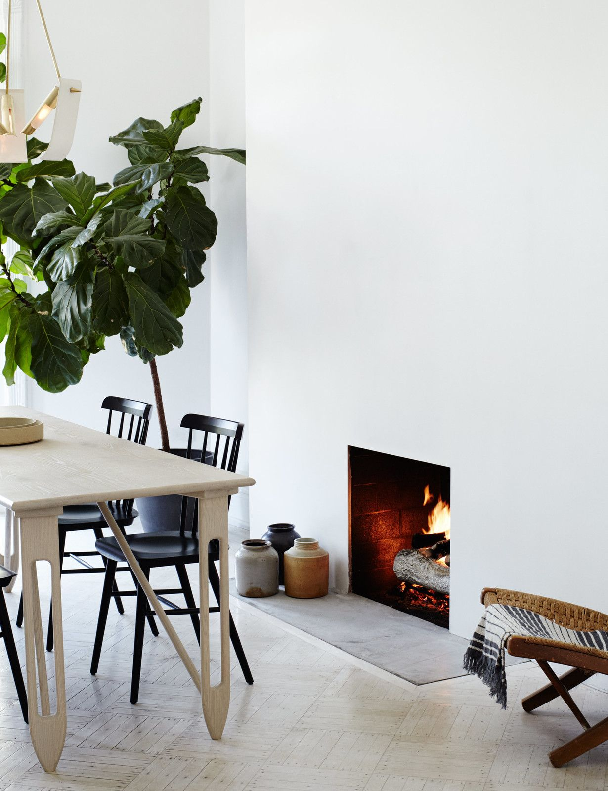 A Fashionable Couple Remake Their Brooklyn Brownstone with a ...