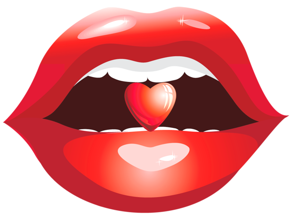 Red Lips With Heart Png Clipart Picture Clip Art Pictures Clip Art Lips Illustration