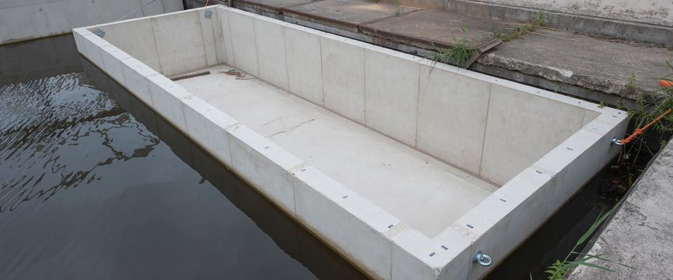 Ponton Hausboot Why Use Concrete? What Type Of Floating Foundation