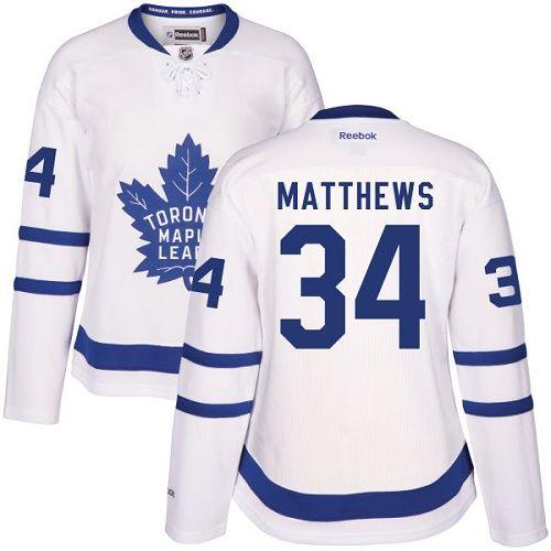 reputable site 807b6 4c3ba Reebok Toronto Maple Leafs #34 Women's Auston Matthews ...