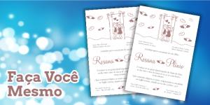 Convite Editável Jasmine