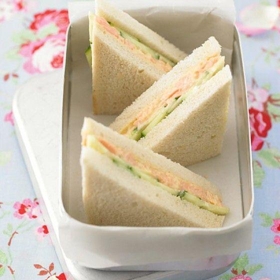 food to go unsere 10 besten rezepte f r den n chsten ausflug gurkensandwiches gute rezepte. Black Bedroom Furniture Sets. Home Design Ideas