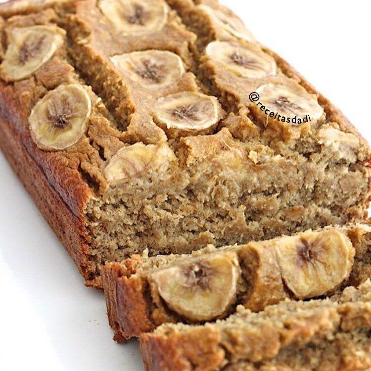 Pao De Banana Sem Farinha Apenas 5 Ingredientes Receita Ingredientes 3 Bananas Maduras Picadas 2 Xicaras Pao De Banana Receitas Receita De Pao De Banana