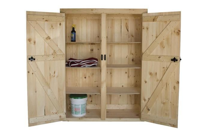 5 Best Tall Wood Storage Cabinets With Doors 2017 X Large Stuff