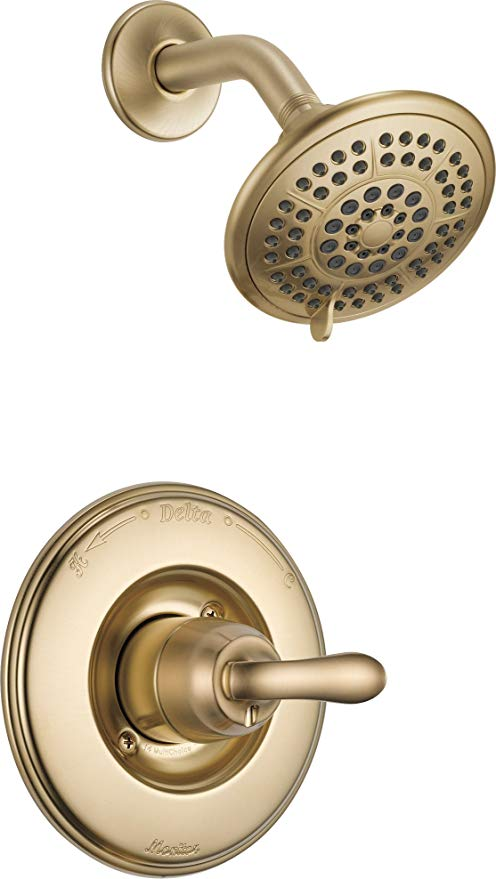 Delta Faucet Linden 14 Series Single Function Shower Trim Kit With