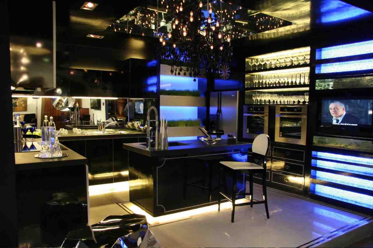 Schön #diseño De #cocinas Cocinas Modernas En Color Negro En Linea 3 Cocinas  #madrid