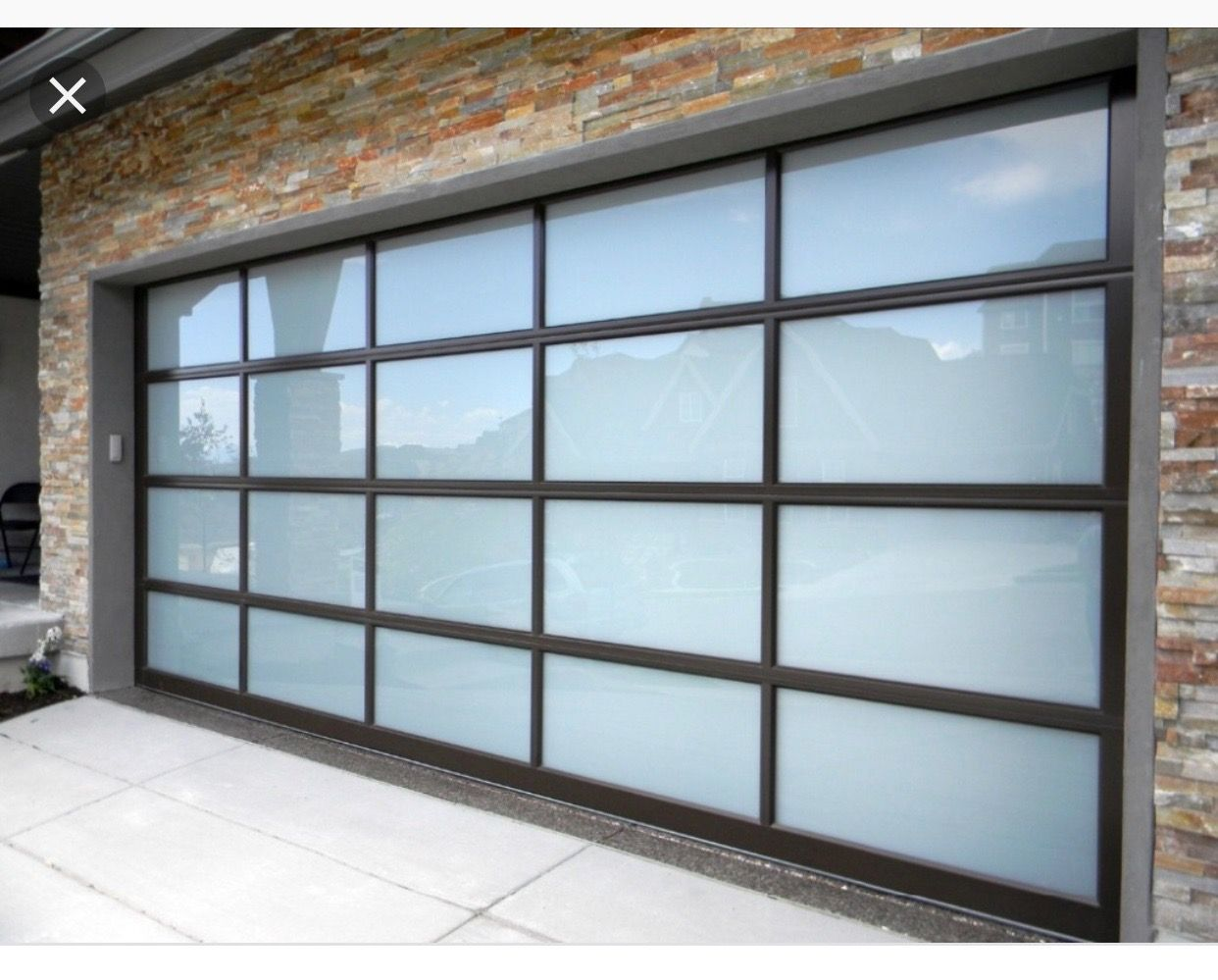 Pin By Brooklyn Phillips On Exterior Garage Doors Glass Garage Door Garage Door Styles