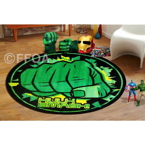 Hulk Smash Kids Children Rug / Carpet 100 CM X 100 CM For Kids Free  Delivery. Superhero ...