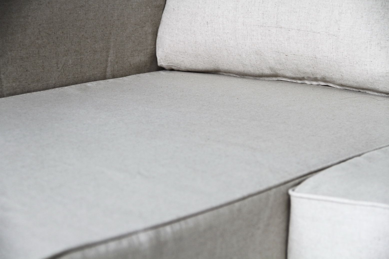 Lino Vintage Manstad Loose Fit Slipcovers By Comfort Works. For Free Fabric  Samples Visit
