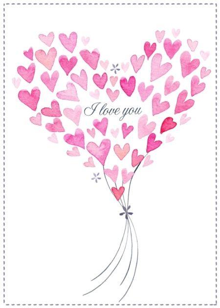 I love you heart Victoria Nelson | Joyería | Pinterest | Rotes herz ...