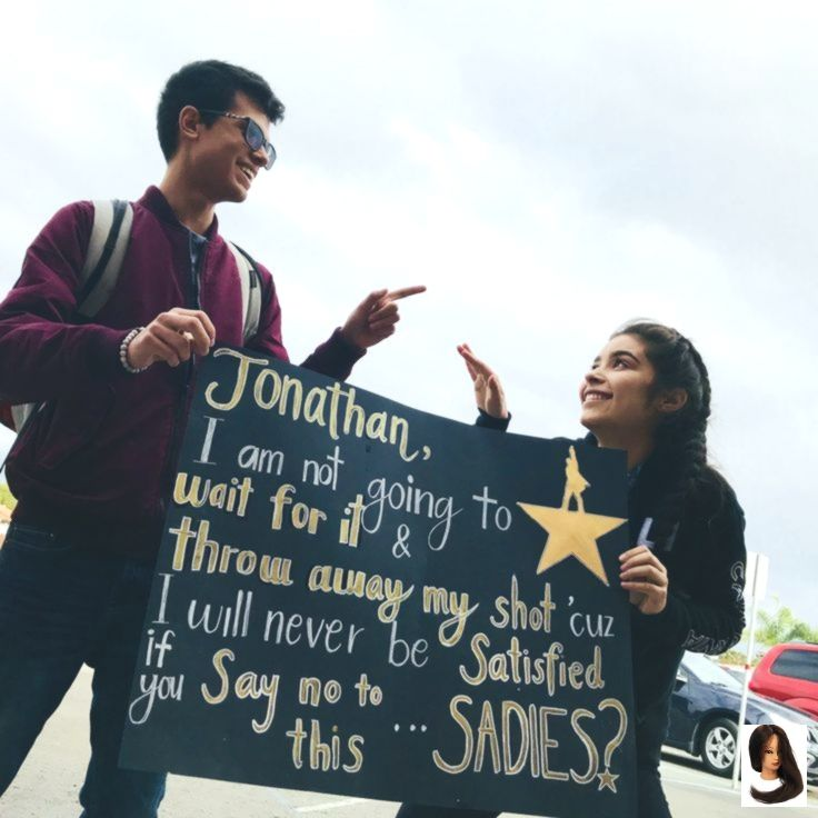 Hamilton Sadie's Proposal ♥️ #Proposal #Sadies #Homecoming #Prom #Alexande #homecomingproposalideas