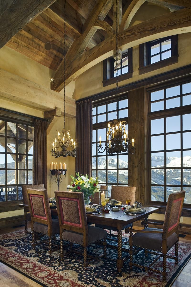 Country/Rustic (Country) Dining Room By Jerry Locati