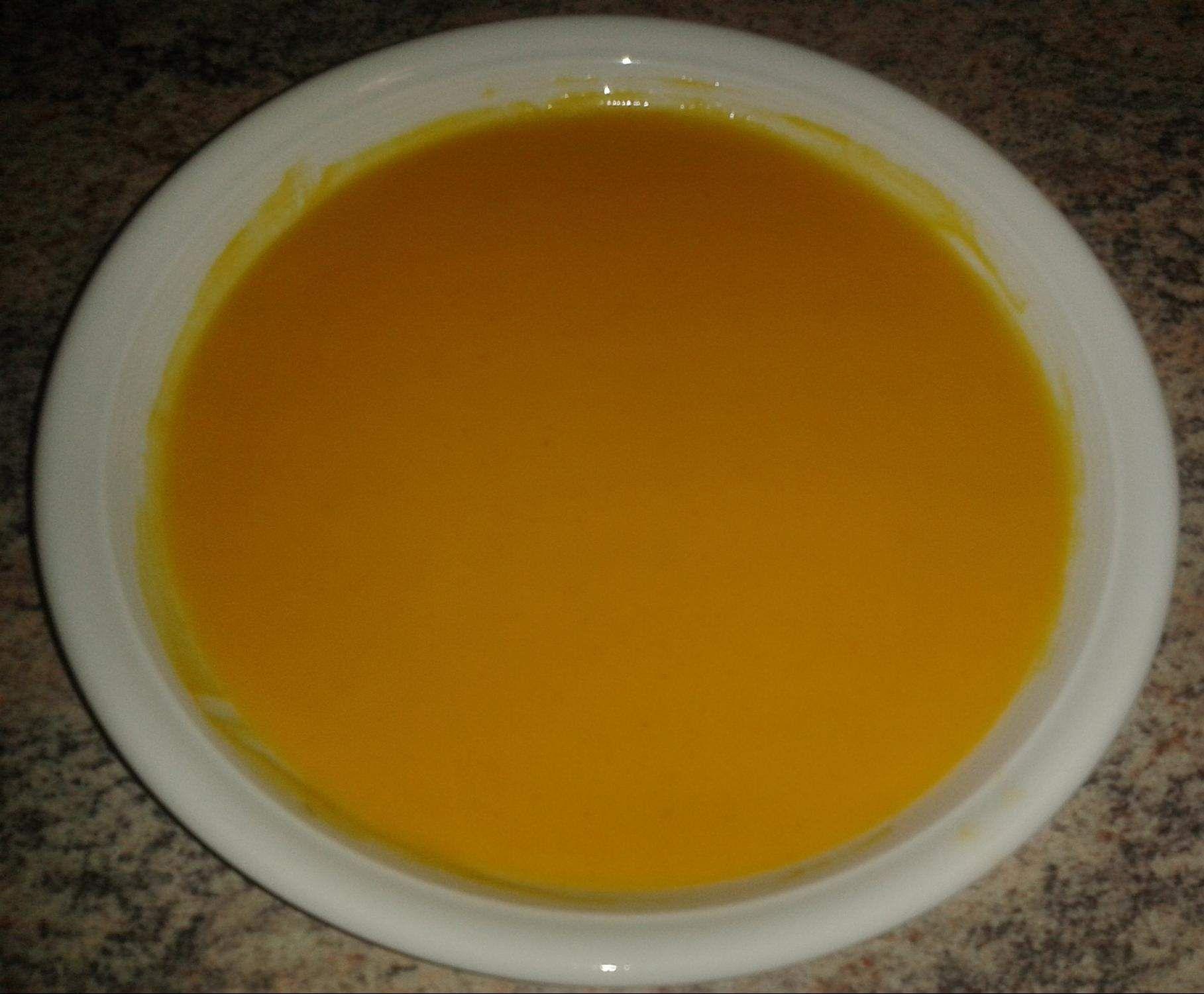 Kürbissuppe (von Hokkaidokürbis)