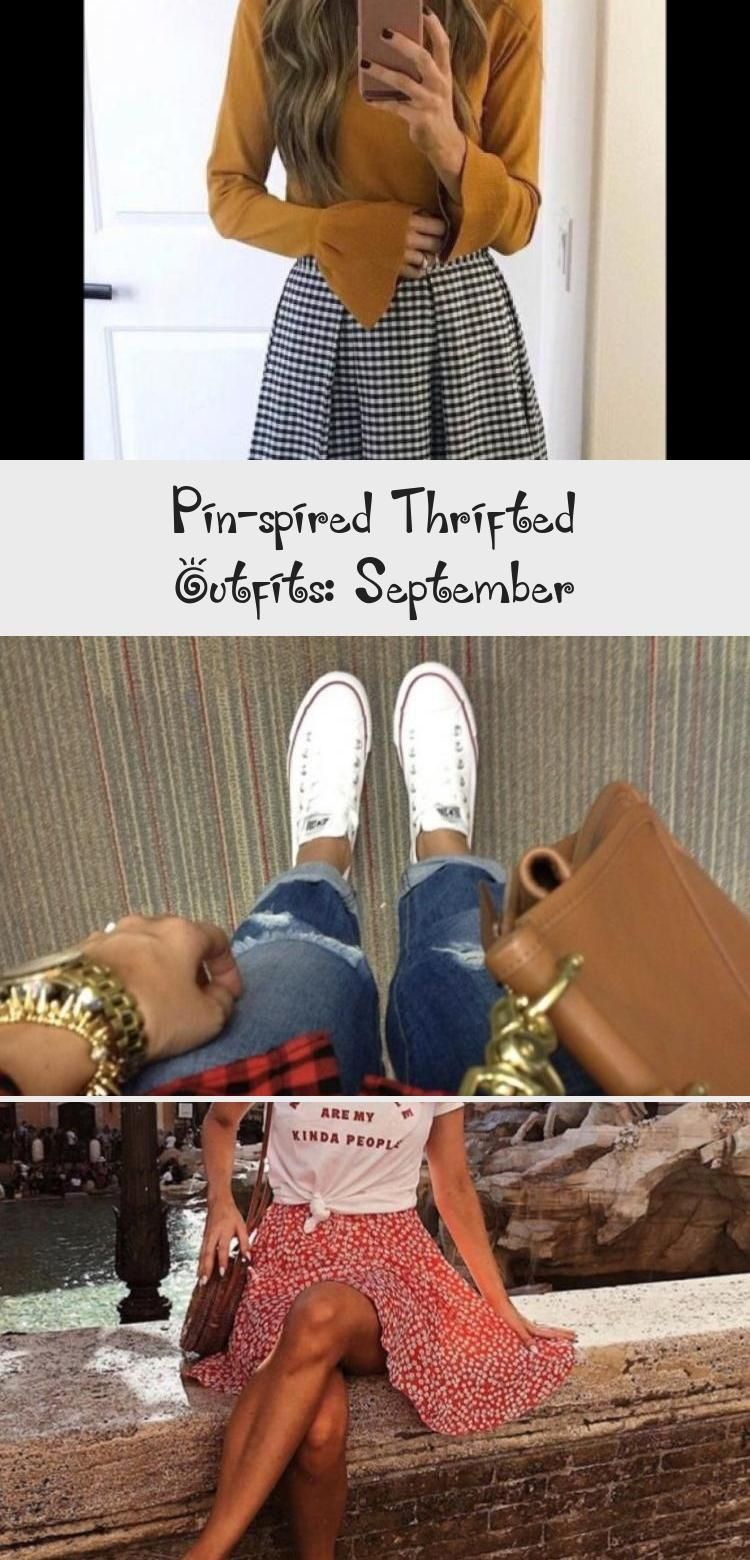 Pin-spired Thrifted Outfits: September - Galafashion, Street Style, Outfits ideas #churchoutfitfall